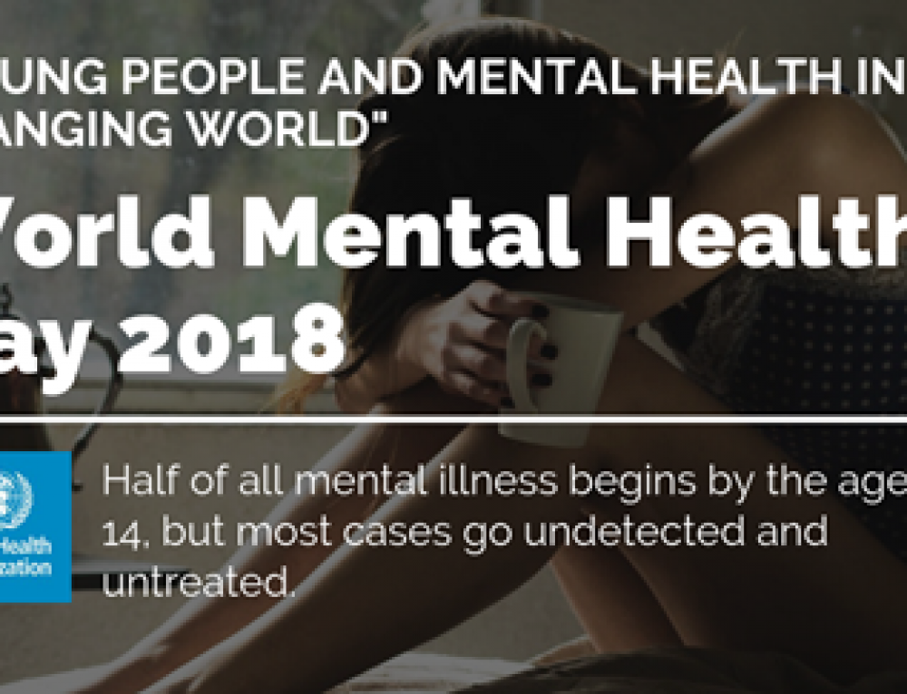 World Mental Health Day October 2018