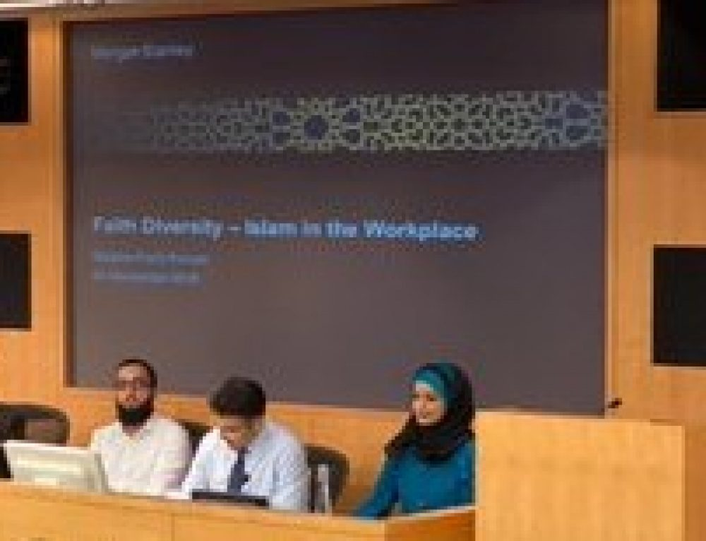 Morgan Stanley ask Chaplains to discuss the faith needs and wellbeing of Jewish and Muslim professionals in the workplace